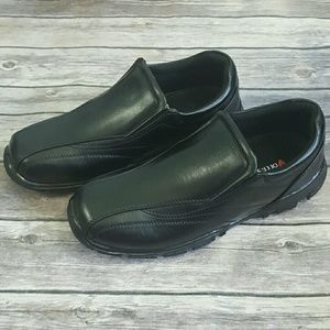 Deer Stags Shoes - Deer Stags Boys Youth Black Slip-on Dress Shoes